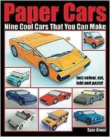 paper cars sam atwal 9781461016236 books. Black Bedroom Furniture Sets. Home Design Ideas