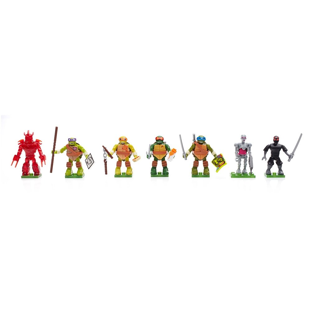 TMNT Mega Bloks Blind Bag (Styles & Series Vary, Sold Individually)