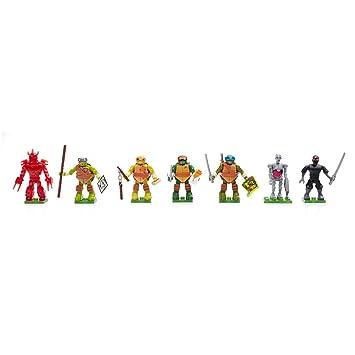 Mega Brands Ninja Turtles Serie Animata TMNT Dmx21 Dmx19 ...
