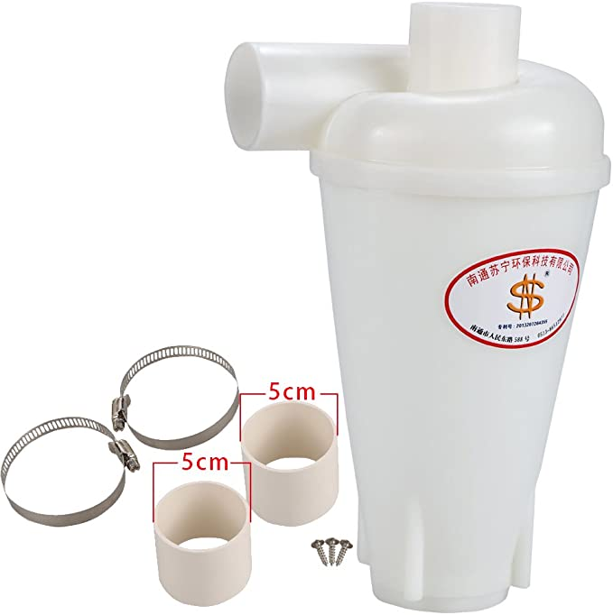 Separador ciclónico aspiración MEGAPOWER polvo separador separador ...