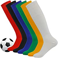 Soccer Socks,Fasoar Unisex Team Sports Football Long Tube...