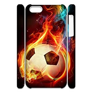 LZHCASE Design Diy hard Case Football For Iphone 4/4s [Pattern-1]