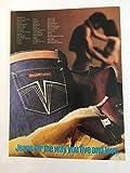 1981 Sergio Valente Jeans Magazine Print