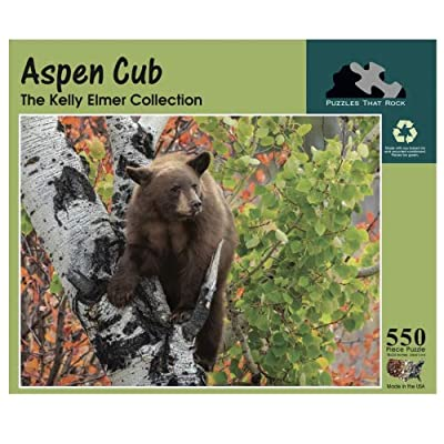 Aspen CUB, 550 Piece Puzzle by Puzzles That Rock: Toys & Games