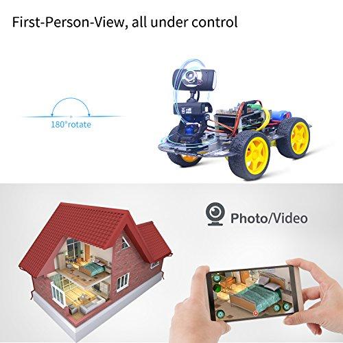 DS Wireless Wifi/Bluetooth Robot Car Kit for Raspberry pi