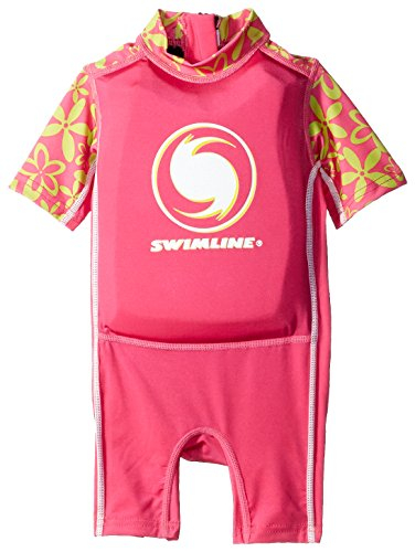 Swimline Lycra Floating Baby Swim Trainer Suit, Girls (Swimline Swim Trainer)