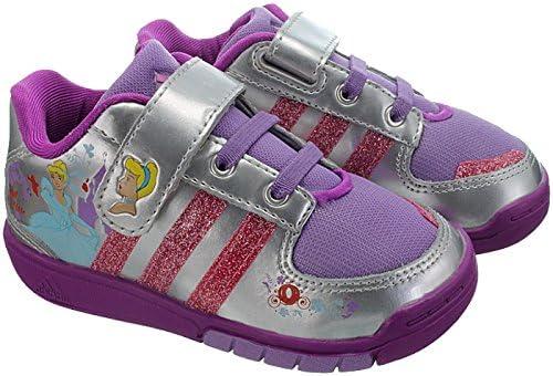 DISNEY Princess ragazze Sneaker Scarpe tempo libero principessa Scarpe bambino Argento