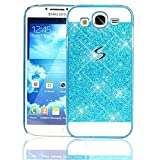 Sunroyal Samsung Galaxy Grand Neo Plus Grand Neo/Lite Plus Grand/Grand I9060 I9062 I9060I (GT-i9060 GT-i9060DS GT-i9060L)-Luxury Crystal With Sparkling Hard Protective Diamond Case