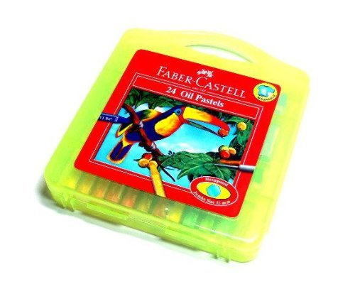 RCECHO® Faber Castell Playing & Learning Pastels Hexa Oil Plastic Bag 24 120089 PB502 174; Full Version Apps Edition