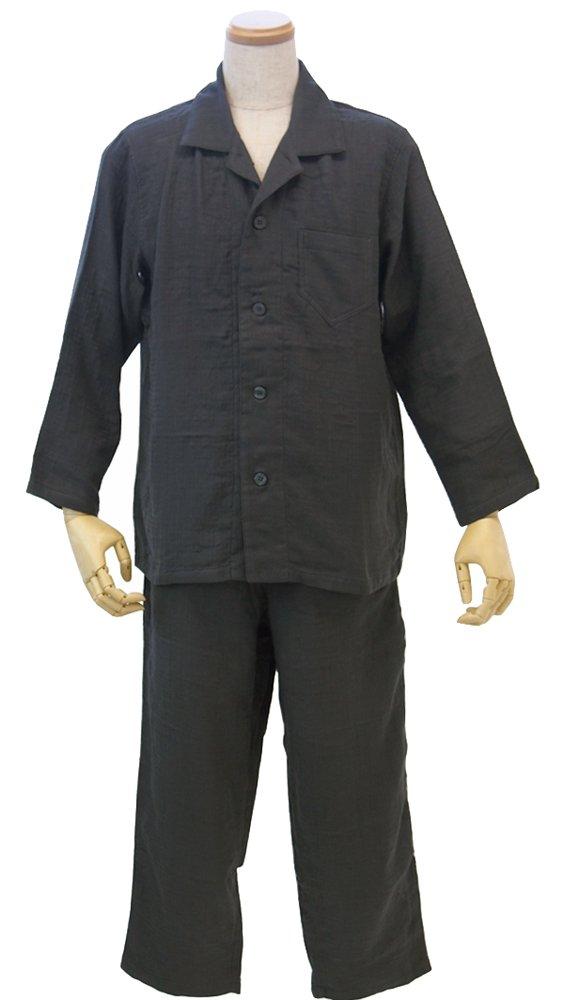 マシュマロガーゼ メンズパジャマ (XL) ダークグレー RP15681L DGy B0185NNCNU X-Large|ダークグレー ダークグレー X-Large