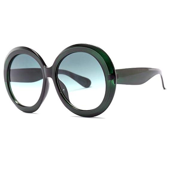 Limotai Gafas de sol Mujeres De Moda Gafas De Sol Redondas ...