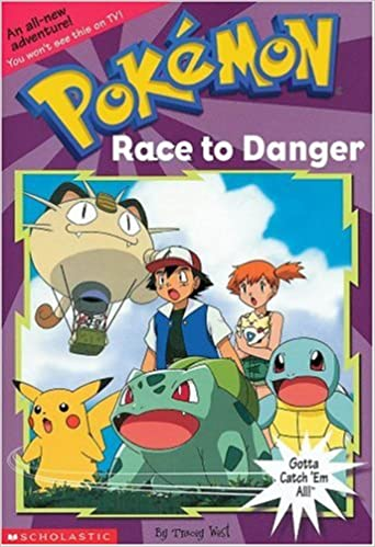 Book Race To Danger (Pokemon Chapter Book, No.13)