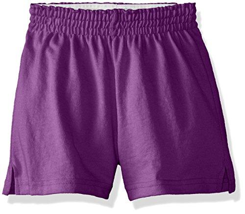 Soffe Big Girls' New Short, Epic Purple, (Purple Girls Shorts)