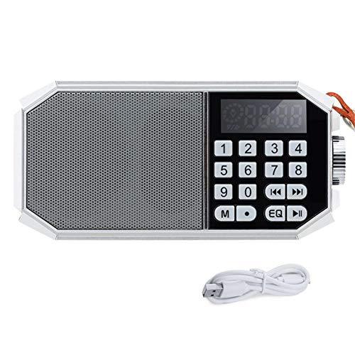 doudouli Bluetooth Speaker Portable Radio Radio Wireless Bluetooth Speaker Digital Karaoke Machine Card Radio -