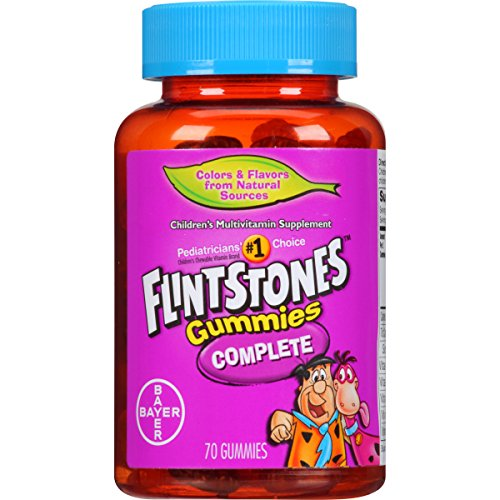 Flintstones Gummies Children's Multivitamins, Kids Vitamin Supplement with Vitamins C, D, E, B6, and B12, 70 Count