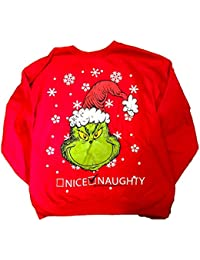 Dr. Seuss Naughty or Nice Christmas Holiday Sweatshirt