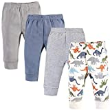 Touched by Nature Unisex Baby Organic Cotton Pants, Bold Dinosaurs, 12-18 Months
