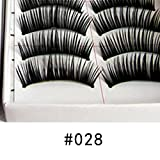 Aelove Thick Section Eye Decoration Realistic False Eyelashes Lash Enhancers & Primers