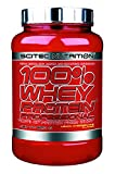 Scitec Nutrition 100% Professional Whey Protein Powder, 2.03LBS, with Extra Added Aminos & Digestive Enzymes, NON-GMO, Mixes Instantly (Lemon Cheesecake) For Sale