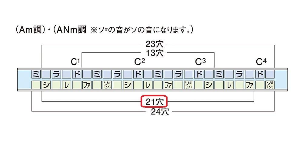 Suzuki humming-tremolo-21-d armonica