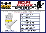 """Elite Leather Gym Gloves with Built in 2"""" Wide"""