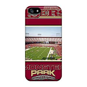 Fashion Tpu Cases For Iphone 5/5s- San Francisco 49ers Defender Cases Covers