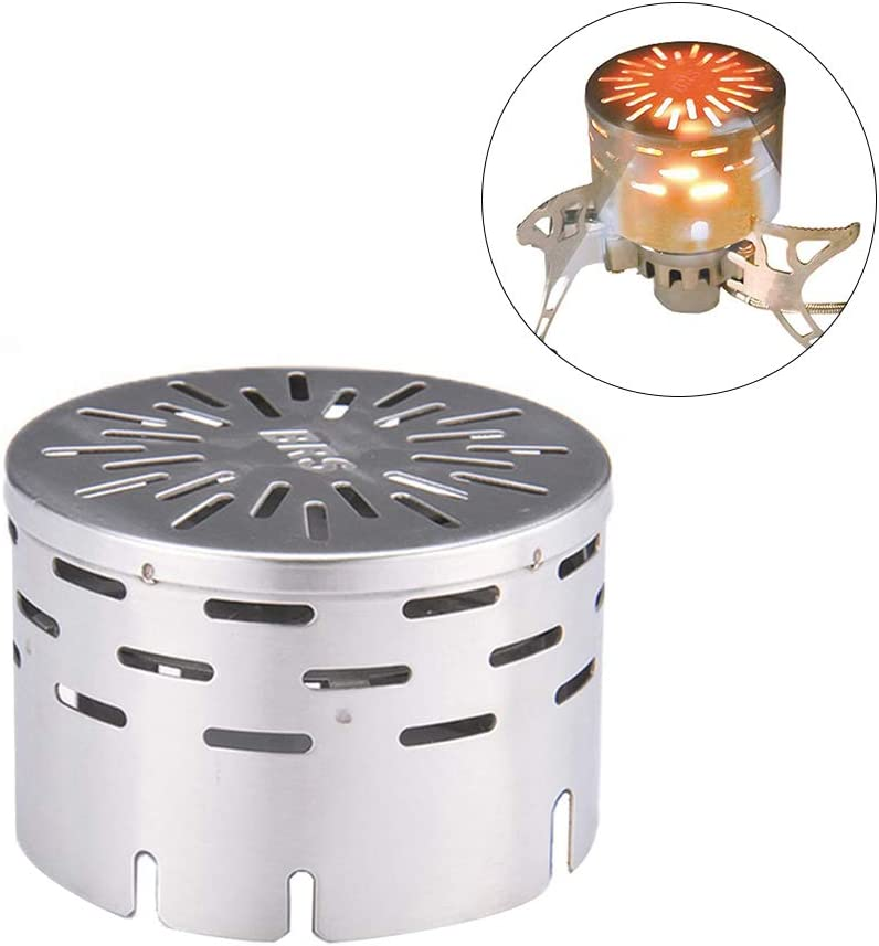Portable Stainless Steel Camping Stove Tent Heating Cover for Outdoor Backpacking Hiking Traveling BBQ. Vsanstar Camping Mini Heater
