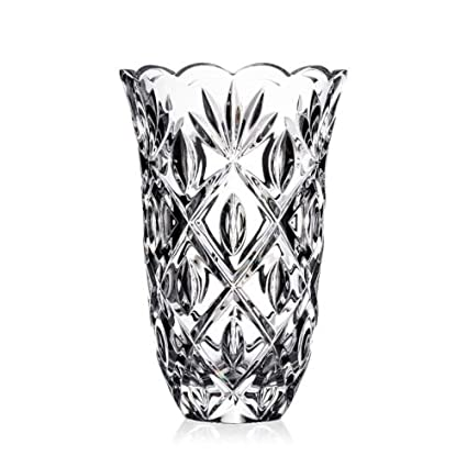 Image Unavailable. Image not available for. Color Waterford Heritage Sara Glass Flower Vase ...  sc 1 st  Amazon.com & Amazon.com: Waterford Heritage Sara Glass Flower Vase 10 Inches ...