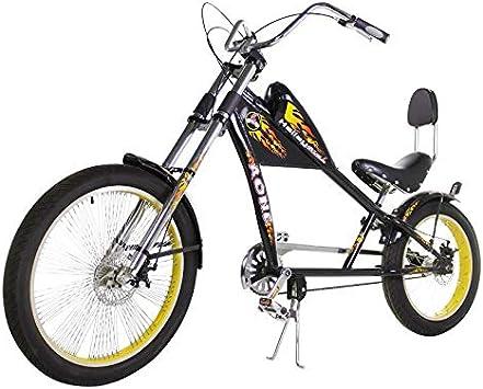 Riscko Bicicleta Estilo Chopper New Town Bep-37 Negro Sin Cambios ...