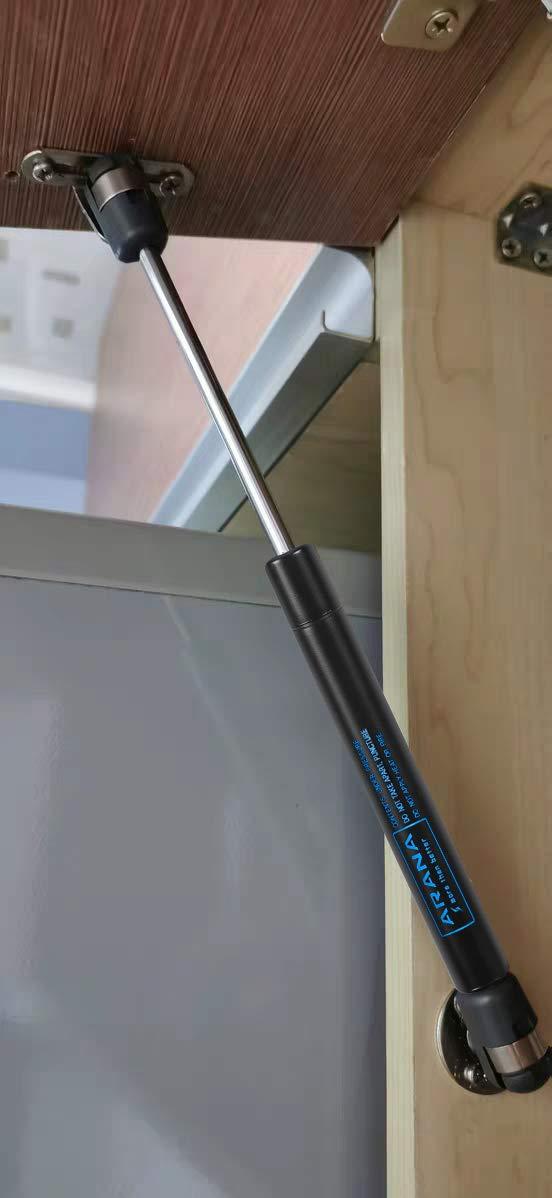 10inch 45N//10LB Lift Supports 10 inch Gas-Struts w//Ball Screws Gas Spring Prop Lid Stay 2pcs ARANA