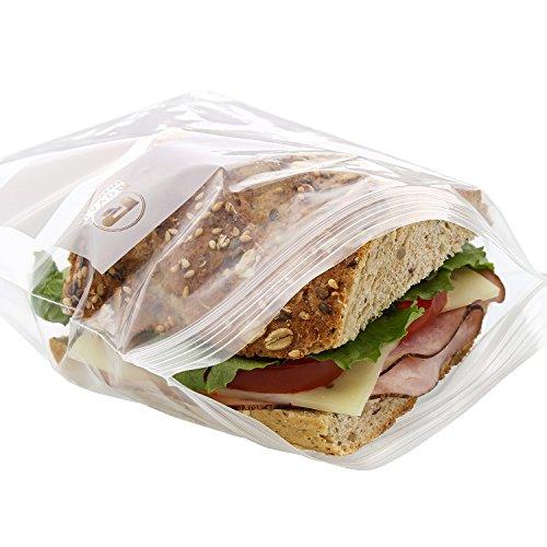 Royal Double Zipper Sandwich Bags, 6.5