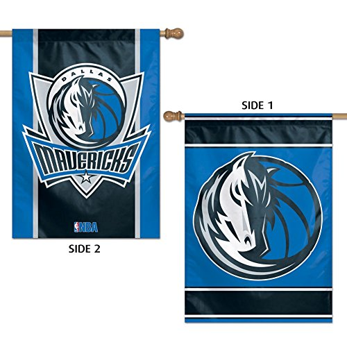 - Wincraft NBA Dallas Mavericks 2 Sided Vertical Flag, 28 x 40