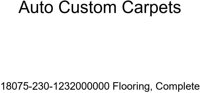 Complete Auto Custom Carpets 18075-230-1232000000 Flooring