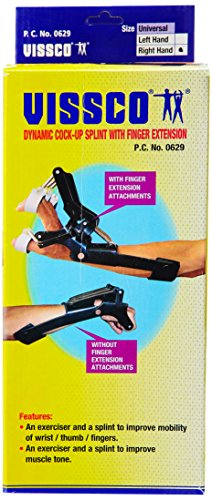 Deo Lotion (Vissco Dynamic Cock-Up Splint with Finger Extension (Right))