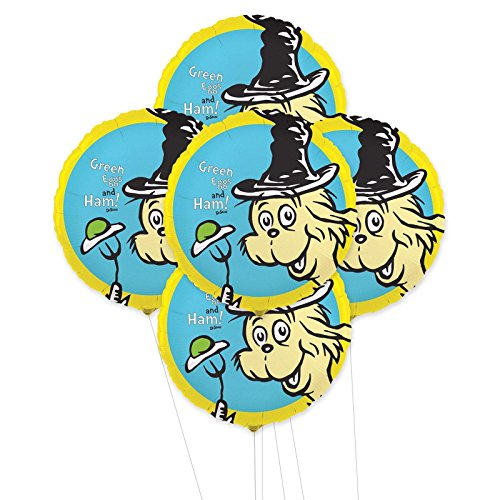 Dr. Seuss 5pc Foil Balloon -