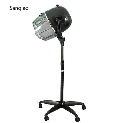 Sanqiao Campana Casco Secador de Pelo Secador de Peluqueria con Capucha y Tripode
