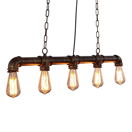Amazon.com: Chandeliers Nordic Loft Vintage Pendant Light ...