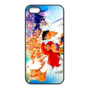 SANYISAN Little Mermaid And Prince Black iPhone 5s case