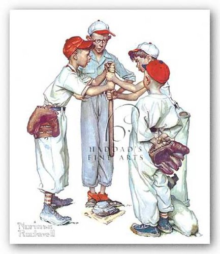 Choosin' Up by Norman Rockwell 10