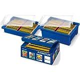 Staedtler Noris-Lápiz, 12unidades, color negro y amarillo 1 - Pack
