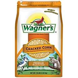 Wagner's 18542 Cracked Corn, 10-Pound Bag (Pack of 6)