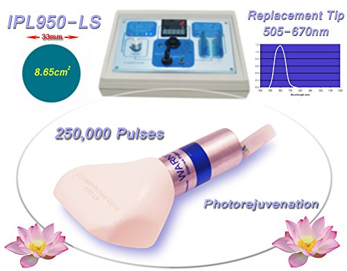 Photorejuvenation 505-670nm Filtered Replacement Tip (machine not included) for Beauty Treatment Equipment, Machine, System, Device. by Biotechnique Avance