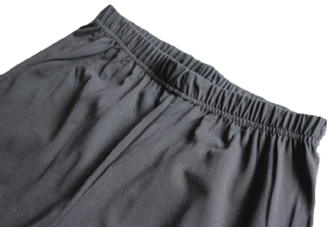 Mens Relaxed Fit Solid Homewear Elastic Waistband Sleepwear Shorts 3 XXL
