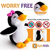 Stuffed Girl Penguin - 5 Inch Plush Soft Animal Toy for Babies and Children - By EpicKids