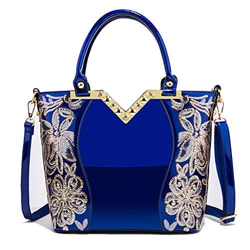 main Sac Blue à Sac Bag Lxf20 à main Lady Sac PU à bandoulière pour Aristocratique femme RgK1xqB