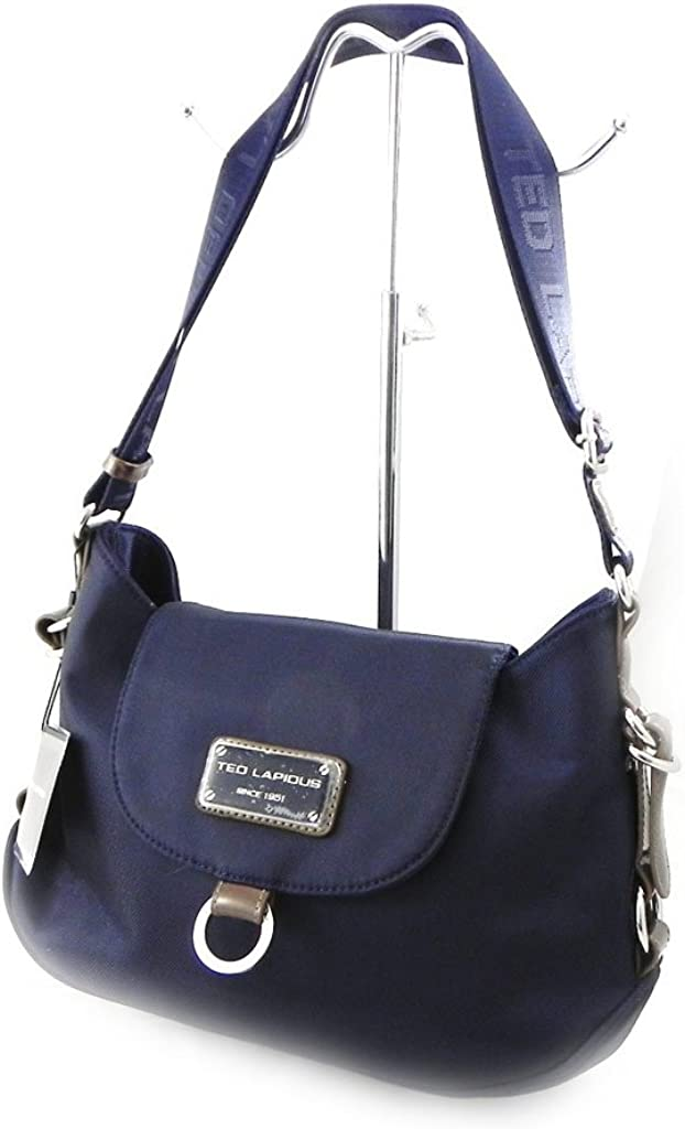 Trotter bag Ted Lapidus navy blue.