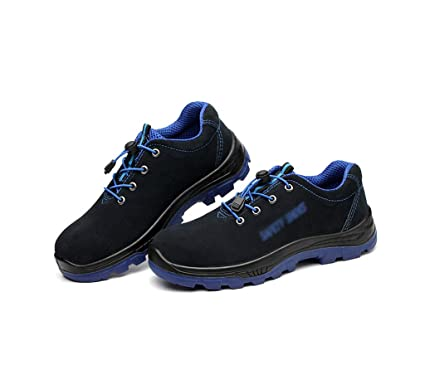 botas para hombres Zapatos de seguridad antideslizantes, zapatos para alpinismo, entrenamiento de seguro laboral
