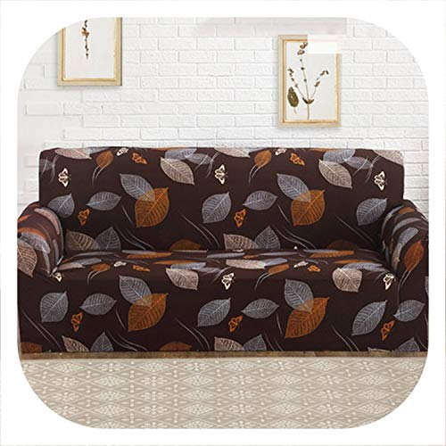YoonGi Custom Stretch Fabric Sofa Sets All-Inclusive Universal Sofa Cover All Cover Towel European Summer Leather Sofa Cushion Slip,16,Two seat Sofa