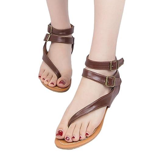 72f9874922452 Amazon.com: Hunzed Women Sandals, Fashion { Strappy Gladiator Shoes ...