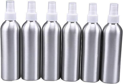 6pcs aluminio botella de Spray, wcic recargable atomizador de viaje ...